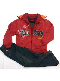 lara camiseta cubre niña manga larga algodon termico 8610